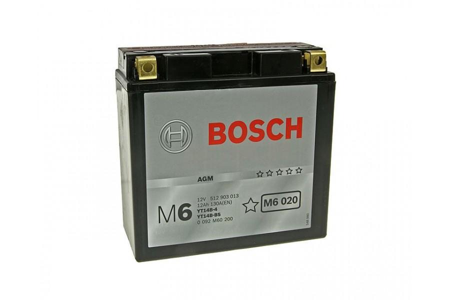 Аккумулятор Bosch YT14B-BS / YT14B-4