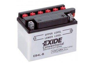 Аккумулятор Exide EB4L-B (4 A/h), 50А R+