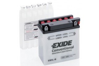 Аккумулятор Exide EB5L-B (5 A/h), 65А R+