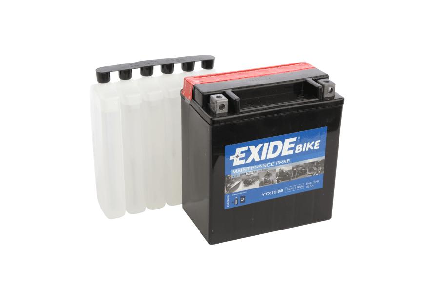 Аккумулятор Exide YTX16-BS (14 A/h), 215А L+