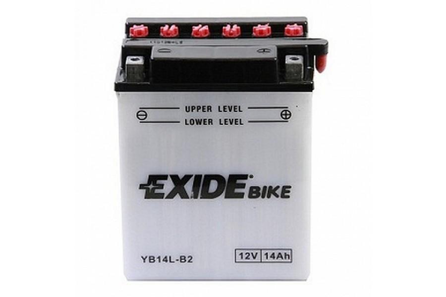 Аккумулятор Exide YB14L-B2 (14 A/h), 140A R+