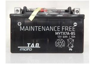 Аккумулятор TAB YTX7A-BS (6 А·ч)