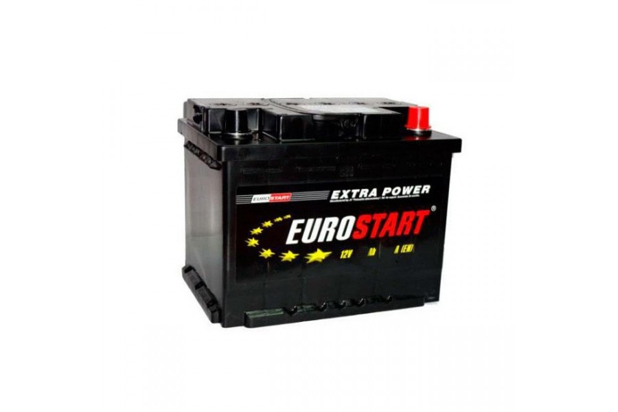 Аккумулятор Eurostart Extra Power 55  A/h 430А R+