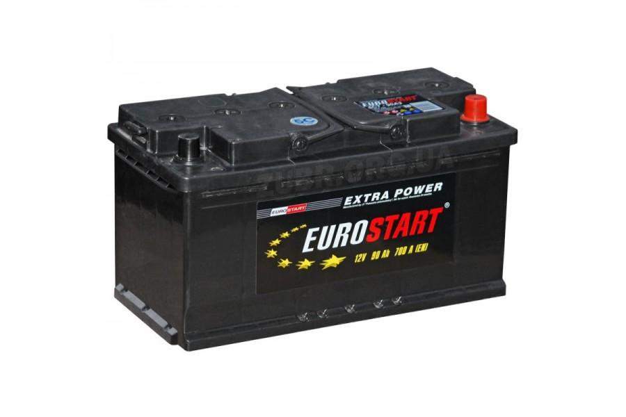 Аккумулятор Eurostart Extra Power 90  A/h 700А R+