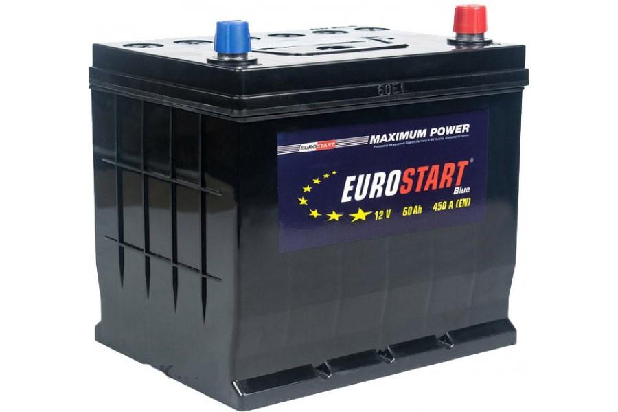 Аккумулятор Eurostart Blue ASIA 60 A/h 450A R+
