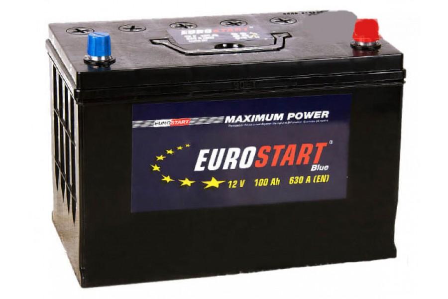 Аккумулятор Eurostart Blue ASIA 100  A/h 630A R+