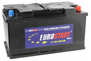Аккумулятор Eurostart Blue 100  A/h 800А L+