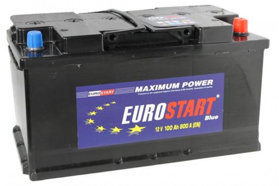 Аккумулятор Eurostart Blue 100  A/h 800А R+