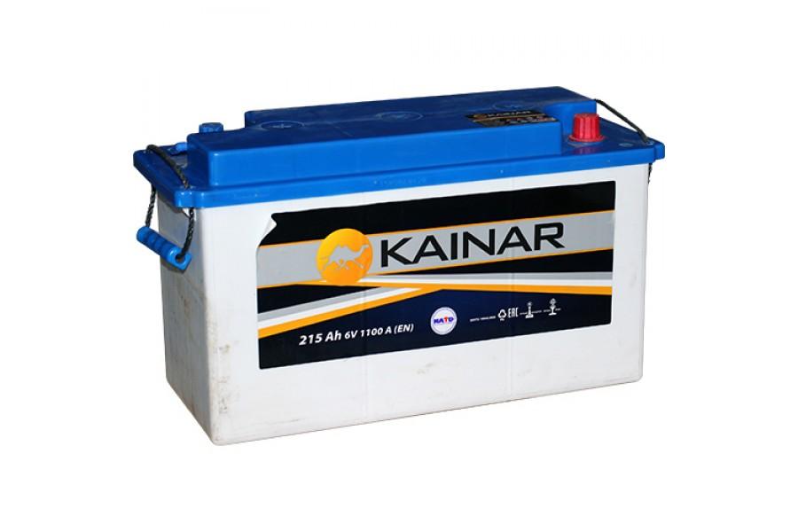 Аккумулятор Kainar 6V 3-СТ 215  A/h 1100A L+