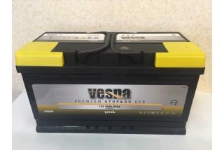 Аккумулятор VESNA EFB 90  A/h R+ 850A