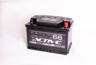 Аккумулятор АкТех Aktive Frost 6СТ-66 Евро