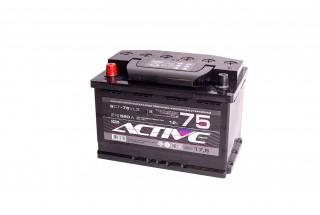 Аккумулятор АкТех Aktive Frost 6СТ-75