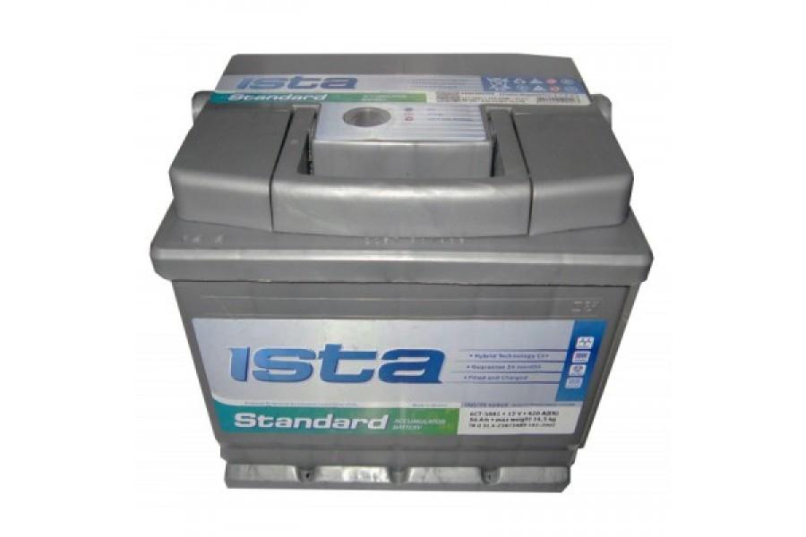 Аккумулятор ISTA Standard (75  A/h), 600А