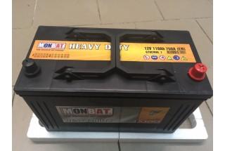 Аккумулятор MonBat 110 Ah 750A