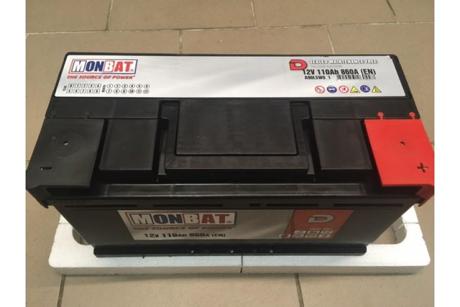 Аккумулятор MonBat 110 Ah 860A низкий
