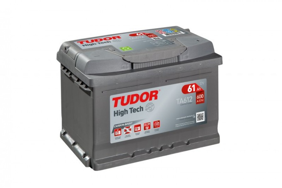 Аккумулятор Tudor High Tech TA601 61  A/h 600A