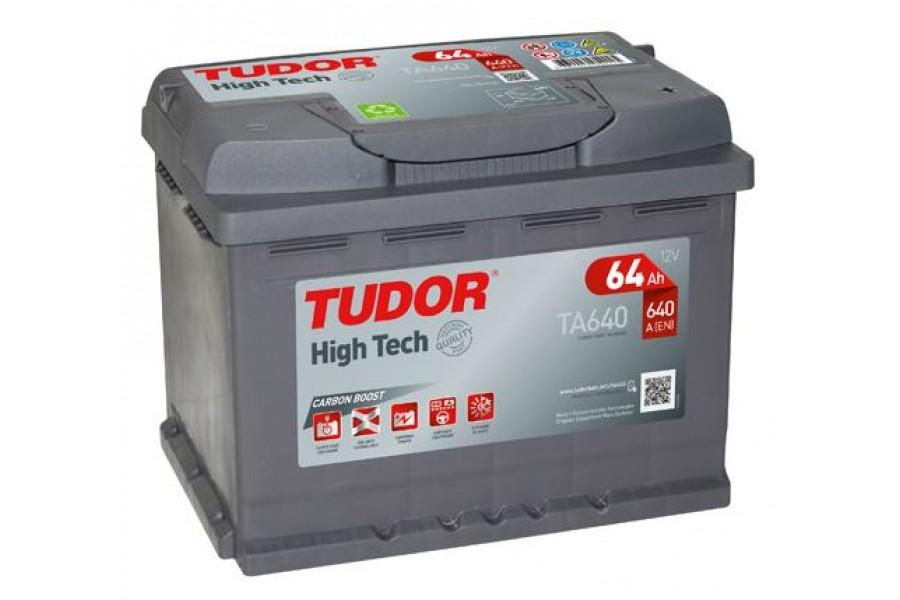 Аккумулятор Tudor High Tech 64  A/h 640A L+
