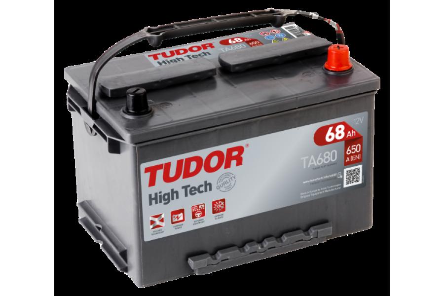 Аккумулятор Tudor High Tech TA680 68  A/h 650A