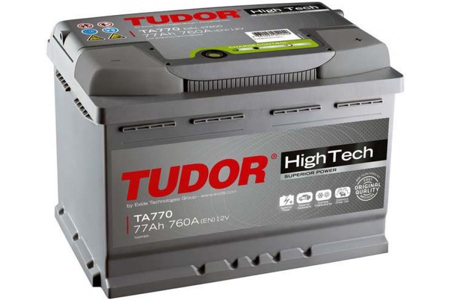 Аккумулятор Tudor High Tech TA770 77  A/h 760A