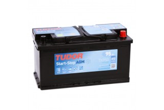 Аккумулятор TUDOR Start-Stop AGM TK950 95   A/h 850A R+
