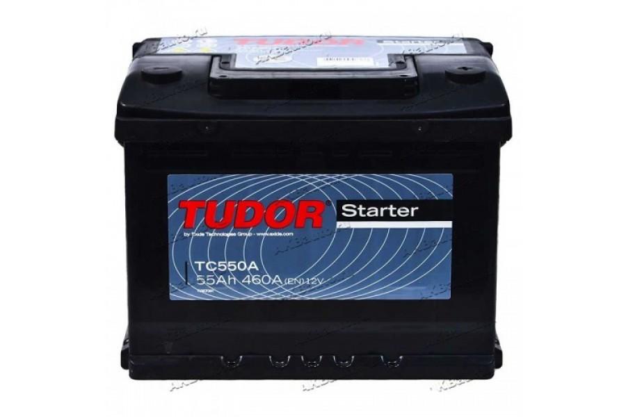 Аккумулятор Tudor Starter TC550A 55  A/h 460A