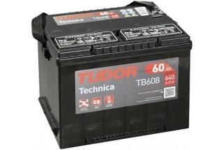 Аккумулятор Tudor Technica TB608 60  A/h 640A