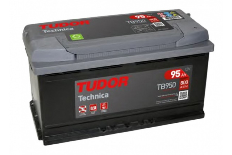 Аккумулятор Tudor Technika TB950 95  A/h 800A