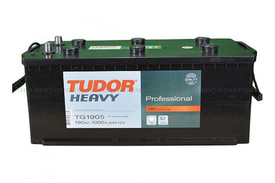 Аккумулятор Tudor Professional TG1905 190 A/h 1000A L+