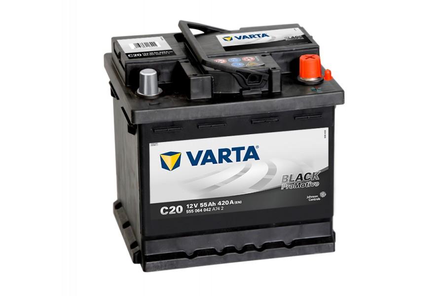 Аккумулятор Varta Promotive Black 555064 (55Ah) 420A