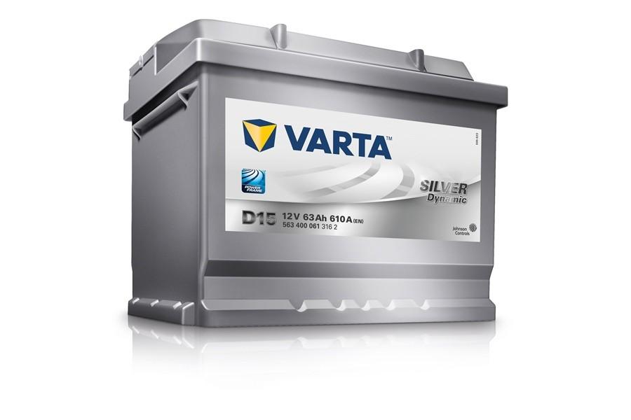 Аккумулятор Varta Silver Dyn 563400 (63 Ah) 610A