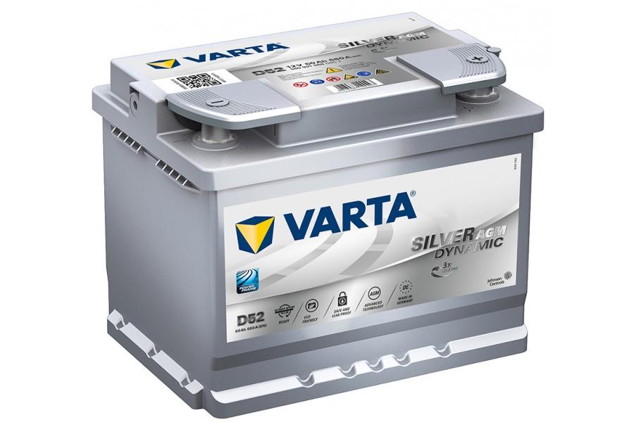 Аккумулятор Varta Start-Stop Plus AGM 560901 (60 Ah) 680A