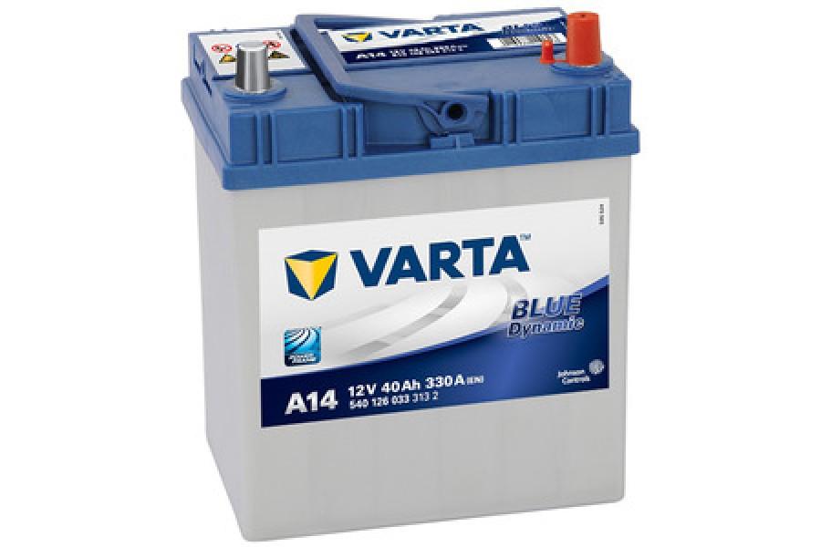 Аккумулятор Varta Blue Dyn (Asia) (40Ah) (R+) 330A