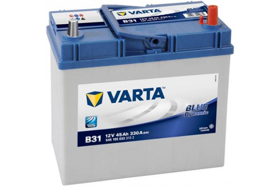 Аккумулятор Varta Blue Dyn (Asia) 545157 (45Ah) R+ тонкая клема 330A