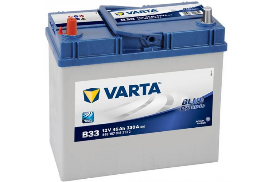Аккумулятор Varta Blue Dyn (Asia) 545157 (45Ah) L+ тонкая клема 330A