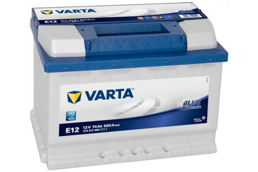 Аккумулятор Varta Blue Dynamic (574 013 068) E12 74 А/h 680А L+