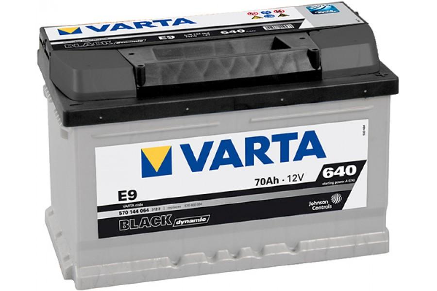 Аккумулятор Varta Black Dyn 570409 (70Ah) 640A