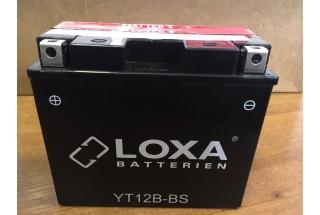 Аккумулятор Loxa YT 12B-BS