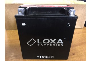 Аккумулятор Loxa YTX 16-BS