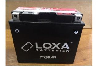 Аккумулятор LOXA YTX20L-BS 18Ah 270A