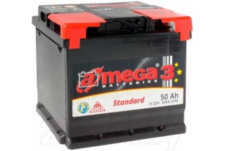 Аккумулятор A-mega Standard 50 R+ 390 A (EN)