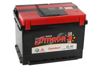 Аккумулятор A-mega Standard 61 R+ 510 A (EN)  (низкий)