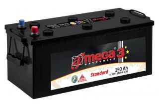 Аккумулятор A-mega Standart 190 1100 A (EN)