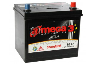 Аккумулятор A-mega Asia Standard 60 JR