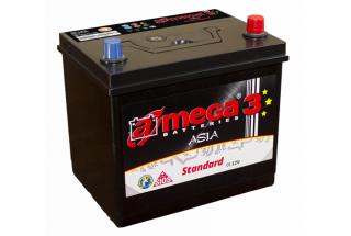 Аккумулятор A-mega Standard Asia 100  A/h 700A L+