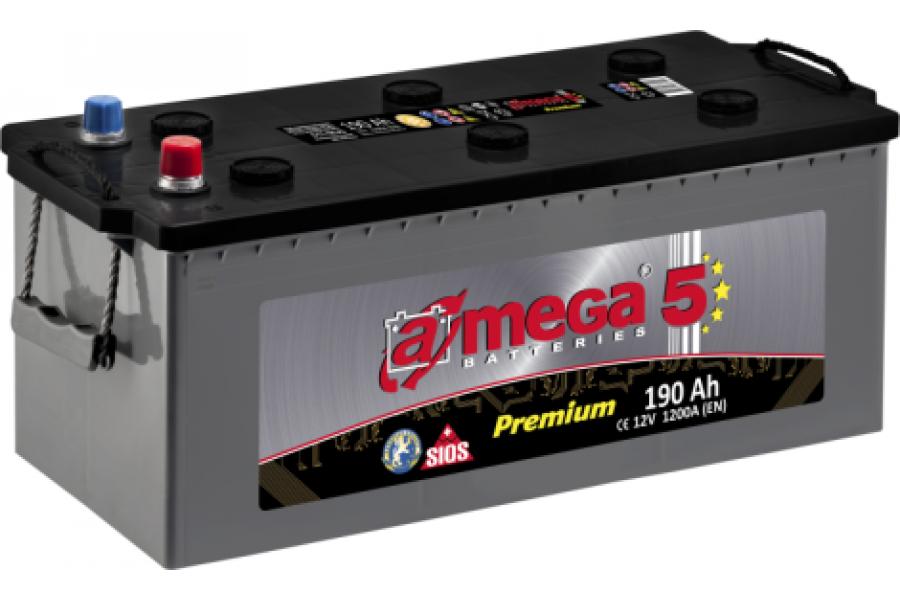 Аккумулятор A-mega 190 1200 A (EN)