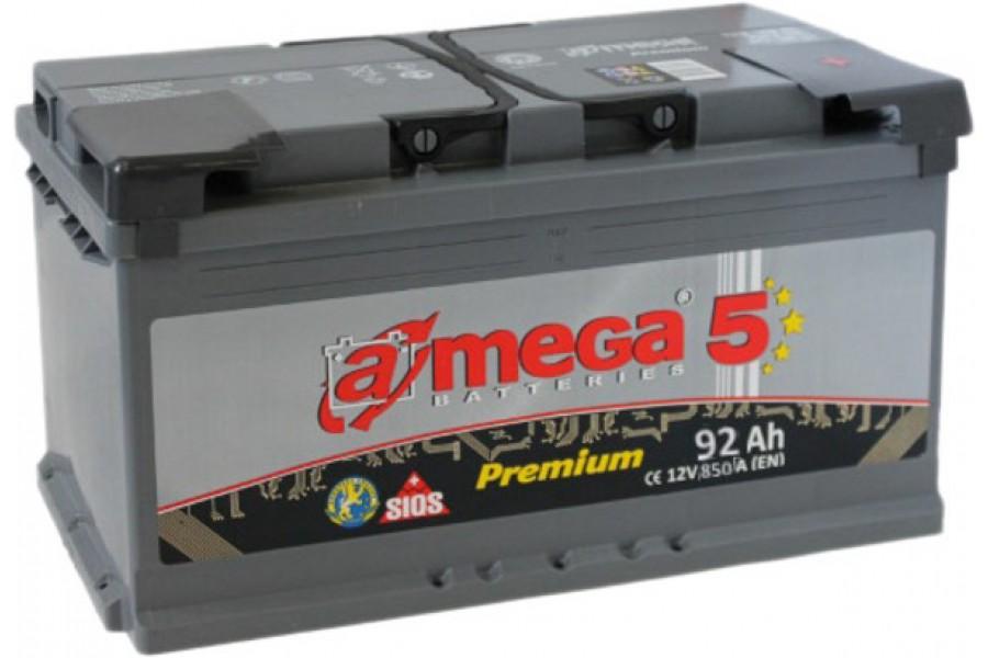 Аккумулятор A-mega 92 R 850 A (EN)