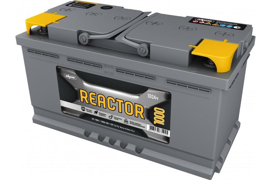 Аккумулятор Reactor 100  A/h 1100A (EN)