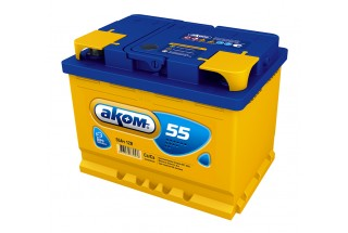 Аккумулятор Akom 55  A/h 520(EN)