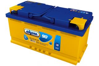 Аккумулятор Akom 90  A/h 870A (EN)