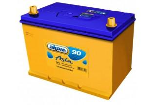 Аккумулятор AKOM Asia 90  A/h 800A L+
